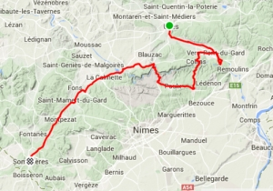 Uzes to Sommieres