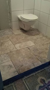 floor tile completed