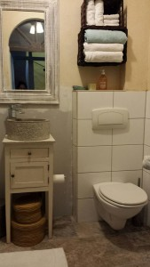 functioning bathroom