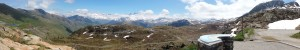 Panoramic view from the top of Croix de Fer