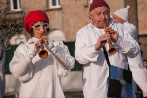 Musicians at the Caux Spring Festival, Languedoc