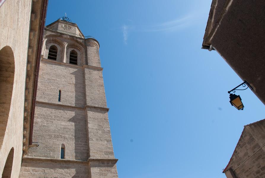 Clock tower, Caux, Languedoc