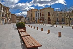 Place de la Republique, Caux, Languedoc