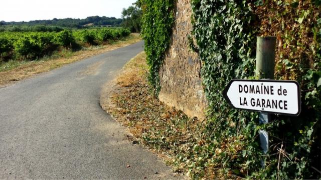 Road to Domaine de la Garance: near Caux, Languedoc