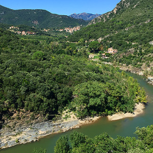 Gorges in the Haut Languedoc, France