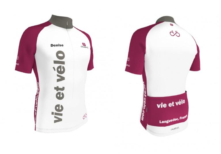 Vie et Velo Cycling Jersey