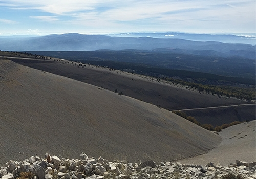 View from Mont Ventoux, Provence