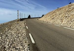 Road up Mont Ventoux, Provence