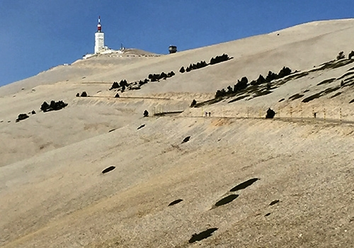 View of Mont Ventoux Summit, Provence
