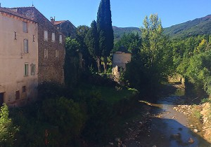 River, St Gervais sur Mare, Languedoc, France