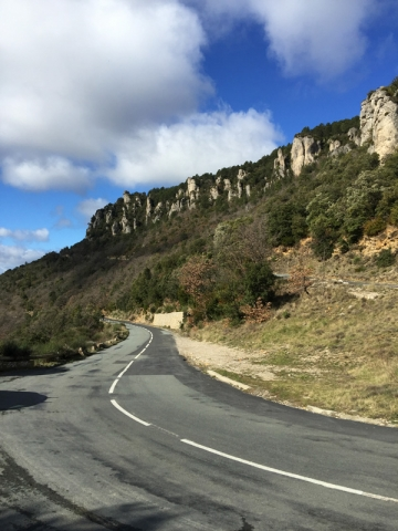 Road in the Cevennes