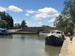 Canal de Midi, Capestang, Languedoc