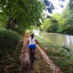 Cycling on the Canal de Midi, Languedoc
