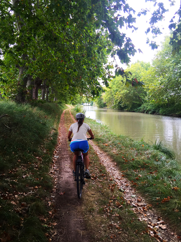 Cycling on the Canal du Midi, Languedoc