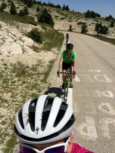 Emerging from the trees, Mont Ventoux, Provence