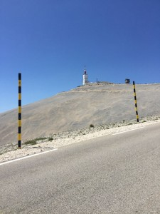 View of the summit, Mont Ventoux, Provence