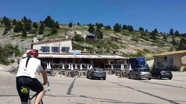 Chateau Reynard on Mont Ventoux