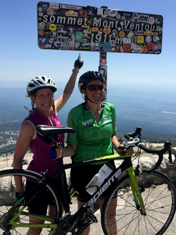 Mont Ventoux Summit: Victory shot