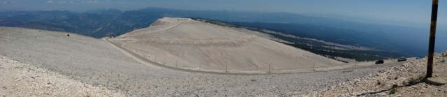 Panoramic View from Summit of Mont Ventoux, Provence