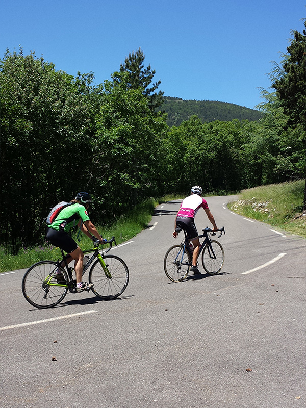 Setting the Pace, Cycling Mont Ventoux