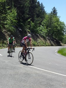 Climbing Mont Ventoux from Sault, Provence