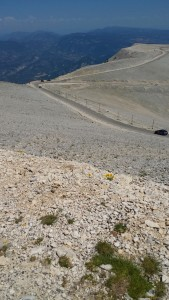 View From the Top of Mont Ventoux, Provence