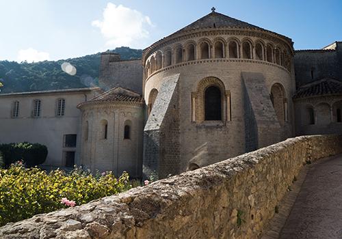 Abbey St Guilhem le Désert, Languedoc