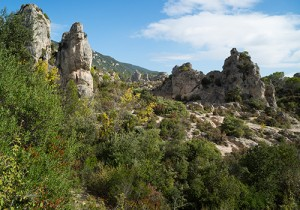 Cirque de Moureze, Languedoc