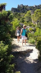 Descending Mont Liausson, Languedoc