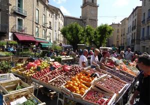 Pezenas weekly market, Languedoc