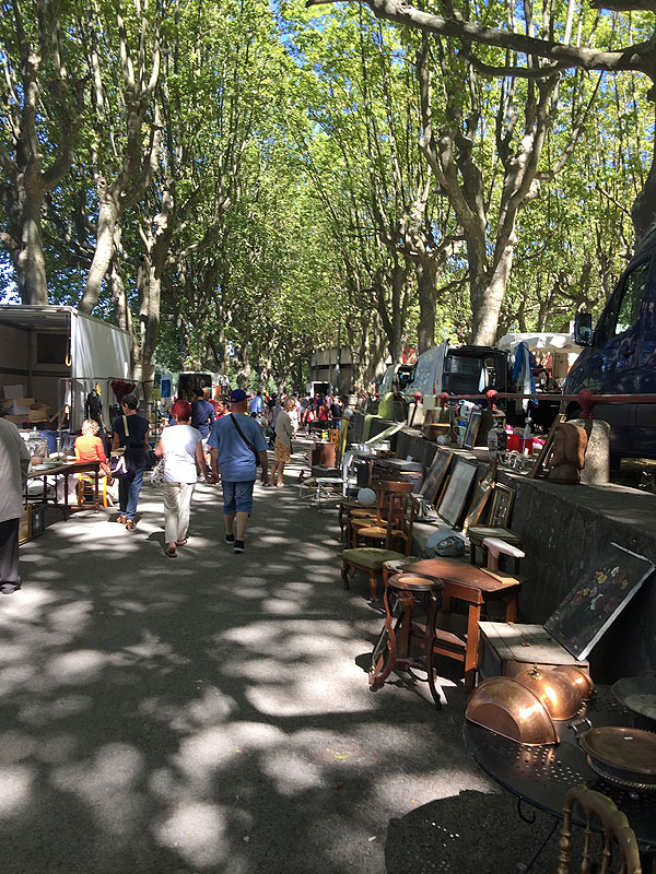 Brochante Market in Sommieres, Languedoc