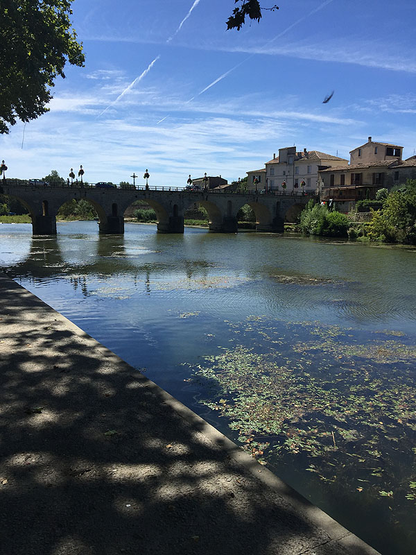 River in Sommieres, Languedoc