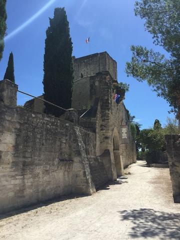 Sommieres castle