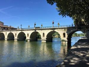 Roman bridge in Sommieres