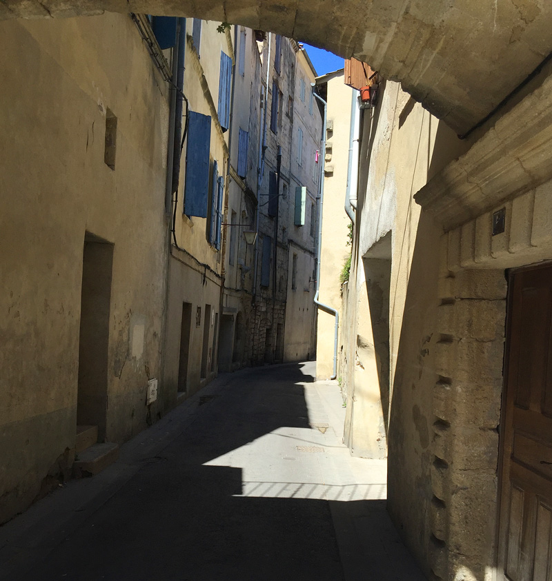 Narrow streets of Sommieres