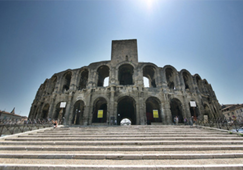 Arles amphitheater, Provence
