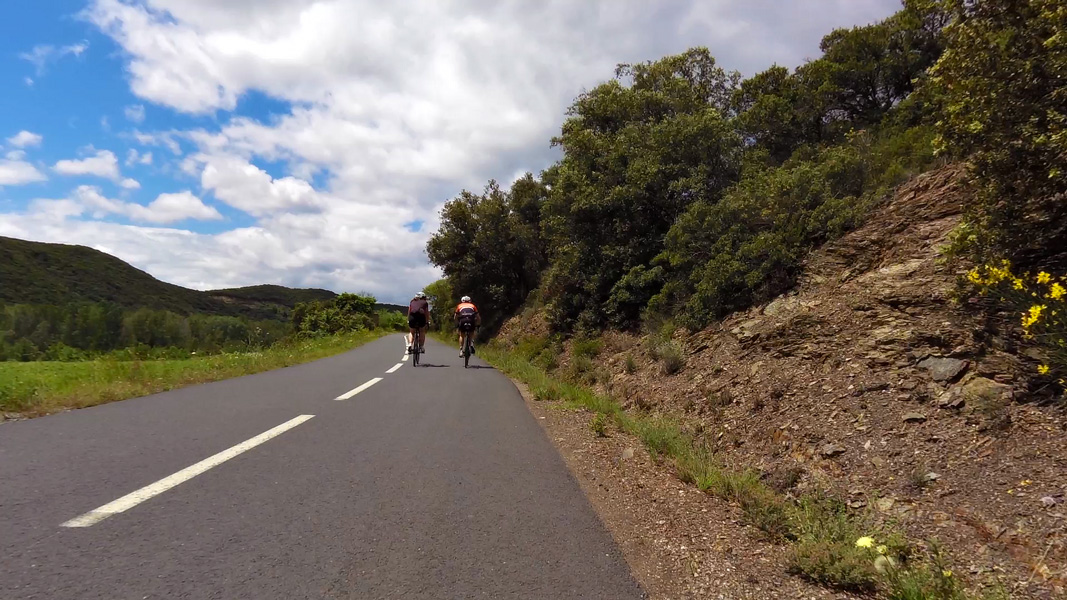 Road cycling in Haut Languedoc