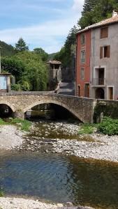 La Graveson Rivier in Lunas, Languedoc