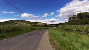Haut Languedoc cycling route