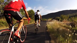 Cycling in the Haut Languedoc region