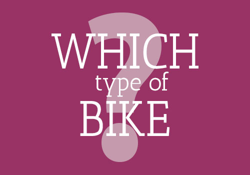 Choosing the right bike for your cycling holiday
