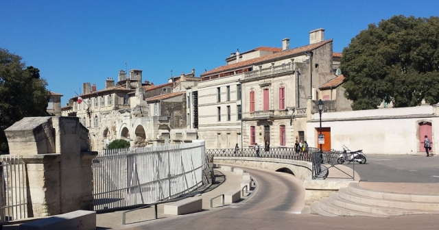 Street view Arles, Provence