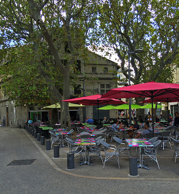 Place Voltaire, Arles, Provence