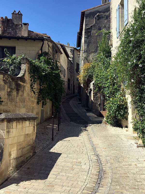 Street view in Uzès, Languedoc
