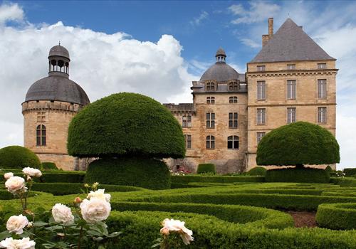 Chateau Hautefort in Dordogne