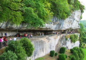 Roque Saint Christoph in Dordogne
