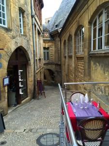 Street in Sarlat, Dordogne