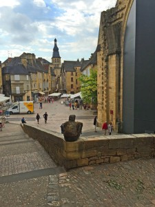 Square in Sarlat, Dordogne