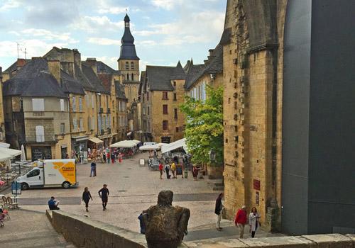 Village of Sarlat, Dordogne