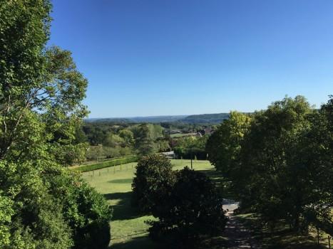 View from Villa Courtissous, Dordogne